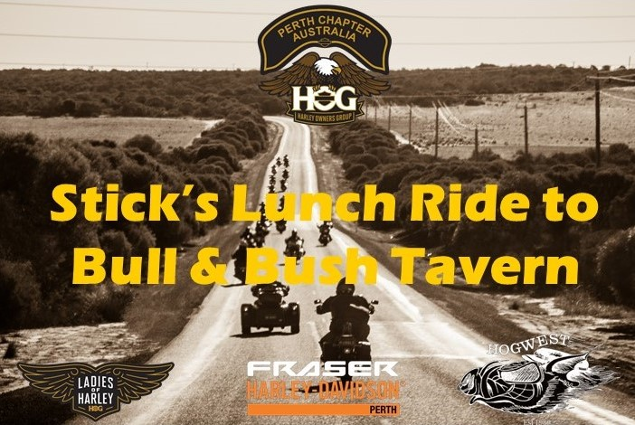 Stick's Lunch Ride to Bull & Bush Tavern
