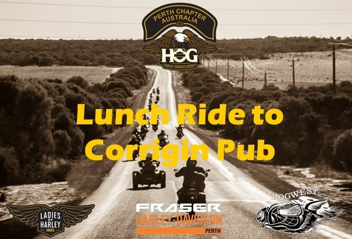 Lunch Ride to Corrigin Pub