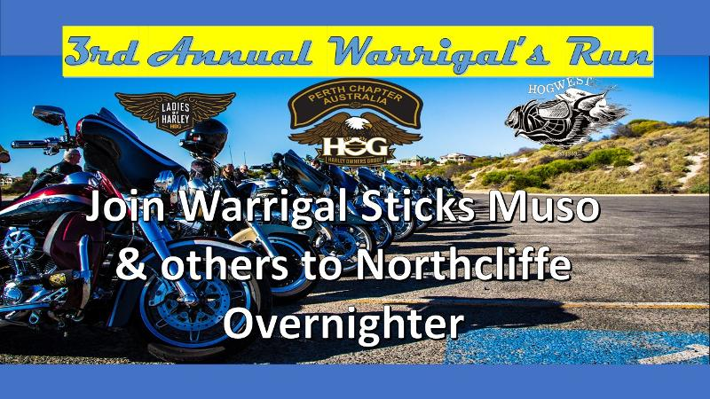 Warrigal's 3rd Annual Run to NorthCliffe Hotel-Tavern Overnighter